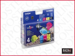Set cartucce stampante Brother Multipack LC1000VALBP